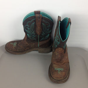 Women's Ariat Fatbaby Heritage Dapper cowboy boot